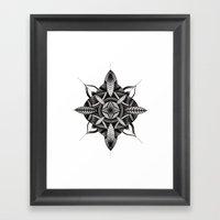 FLWR3 Framed Art Print