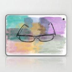 Painted Glasses Laptop & iPad Skin