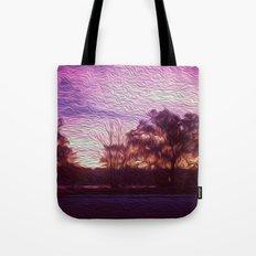 Pink Sunrise Tote Bag