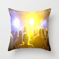 The Show Throw Pillow