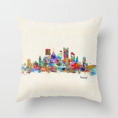 Pittsburgh Pennsylvania … Throw Pillow