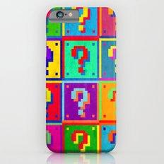 Mario Blocks iPhone 6 Slim Case
