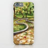 Autumn Pond iPhone 6 Slim Case