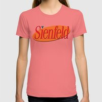 Sienfeld Womens Fitted Tee Pomegranate SMALL