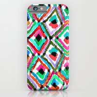 iPhone & iPod Case featuring Watercolour Ikat by Amy Sia