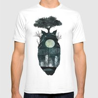 March Of The Forest Spir… Mens Fitted Tee White SMALL