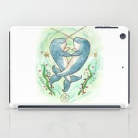 Narwaltz - Narwhal Valentine iPad Case