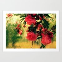 A Promise Of Sweet Softn… Art Print