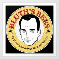 Bluth's Bees Art Print