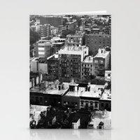 Lower East Side Skyline #3 Stationery Cards