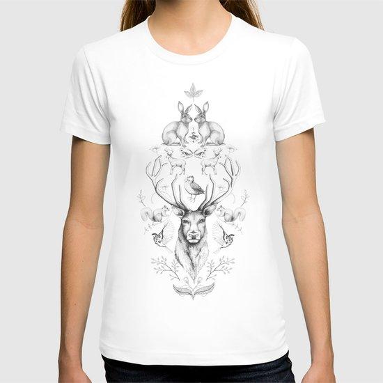Animals symmetry symphony #2 T-shirt