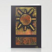 Sunshine Stationery Cards