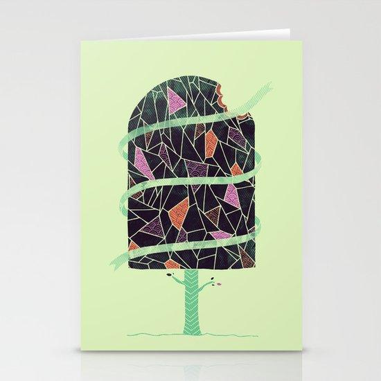 Winter Tree Stationery Card