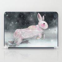 White Rabbit iPad Case