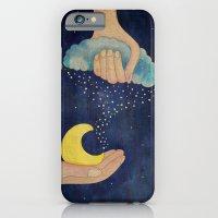 iPhone & iPod Case featuring Handmade Night by Duru Eksioglu