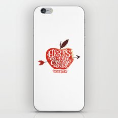 Here's to the Crazy Ones iPhone & iPod Skin