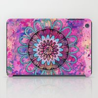 metallic sunset mandala iPad Case