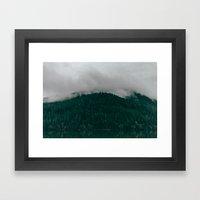 Pacific Northwest Lake Framed Art Print