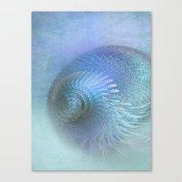 Fantasy Shell Canvas Print
