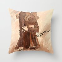 Style and music  Throw Pillow
