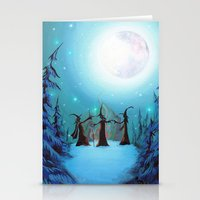 Witch Coven Stationery Cards