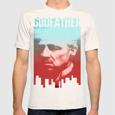 GODFATHER - Do I Have Yo… Mens Fitted Tee Natural SMALL