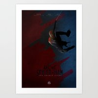 The Amazing Spiderman Art Print