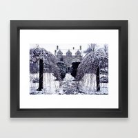 Barnsley House Winter Framed Art Print