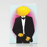 Lemonhead Stationery Cards
