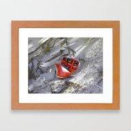 Beach Trail Framed Art Print
