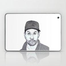 Denzel Washington Portrait Laptop & iPad Skin