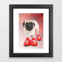 You don't have a pair or two too? Framed Art Print