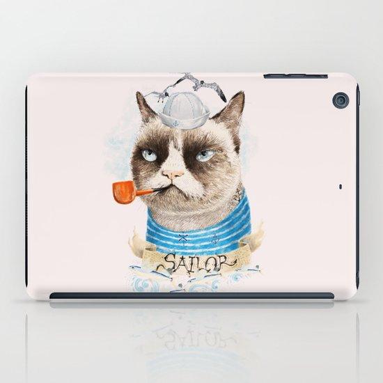 Sailor Cat VIII iPad Case