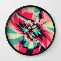Swivel Vision (Available in the Society 6 Shop) Wall Clock