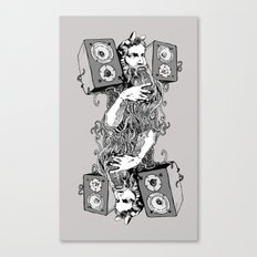 Double Stereo Moses Canvas Print