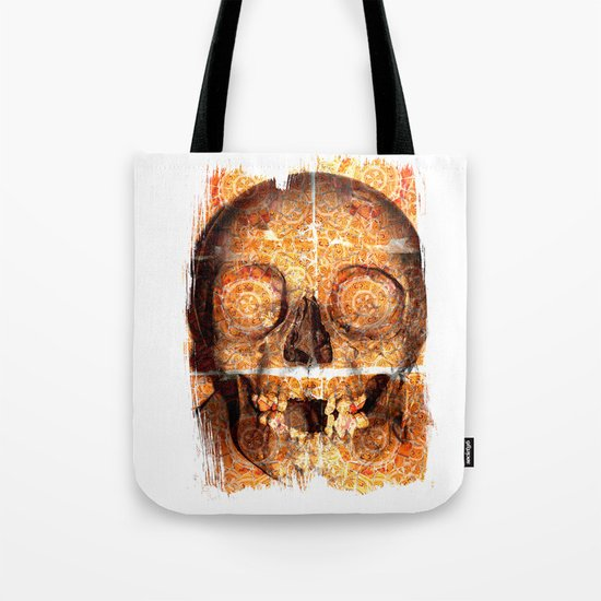 mosaica skully Tote Bag