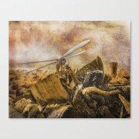 Dragonfly Dreams Canvas Print