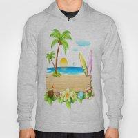 Tropical Island Hoody
