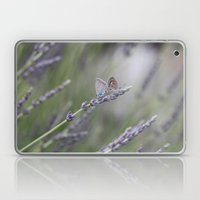 Lavender Butterflies - J… Laptop & iPad Skin
