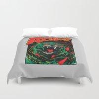 Cringer Roar Duvet Cover