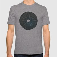Sea's Design - Urchin Sk… Mens Fitted Tee Tri-Grey SMALL