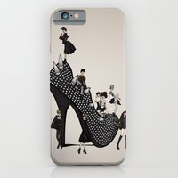iPhone & iPod Case featuring Punk Noir by annabours