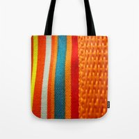 In Woven Color Tote Bag