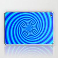 The Swirling Blues Laptop & iPad Skin