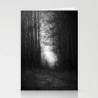 In the deep dark forest... Stationery Cards