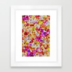 Pebble Rocks Framed Art Print