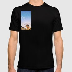 Oh Happy Day Mens Fitted Tee SMALL Black
