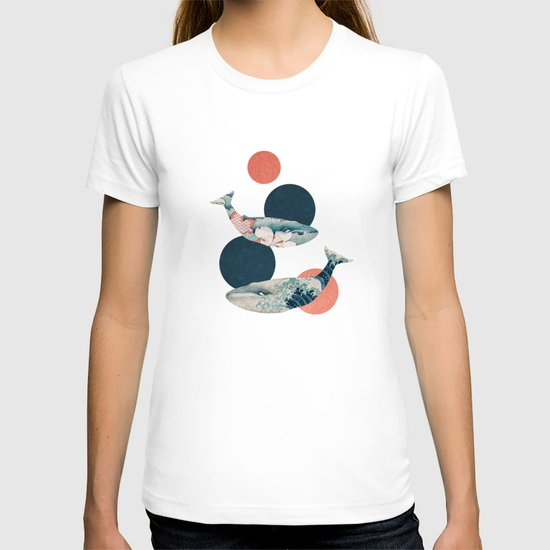 Whales and Polka Dots T-shirt