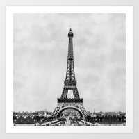Eiffel Tower, Paris Fran… Art Print