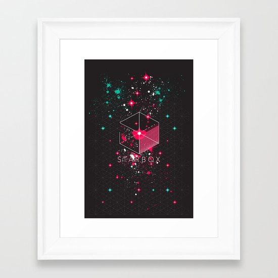 STARBOX Framed Art Print